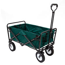 Green Folding Wagon