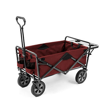 Awesome Folding Wagon With Table In Assorted Colors