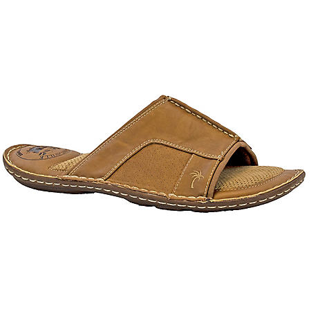 Margaritaville Mens' Leather Slide Sandal