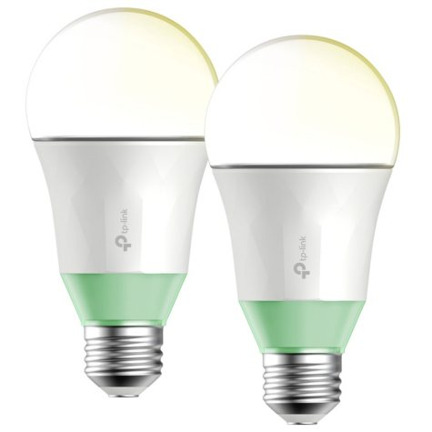 TP-LINK Kasa Smart Wi-Fi White LED Bulb (2-Pack)