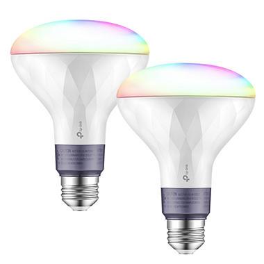 Tp Link Kasa Smart Wi Fi Multicolor Led Bulb 2 Pack