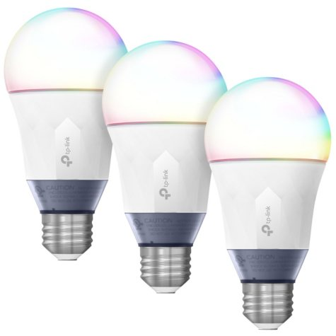 TP-LINK Kasa Smart Wi-Fi Multicolor LED Bulb (3-Pack)