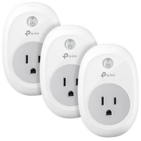 TP-LINK Kasa Smart Wi-Fi Plug (2 or 3 Pack)