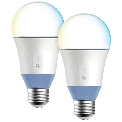 TP-LINK Kasa Smart Wi-Fi Tunable White LED Bulb (2-Pack)
