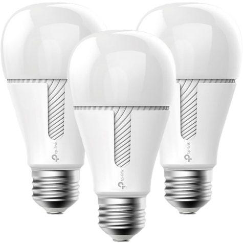 TP-LINK Kasa Smart Wi-Fi White LED Dimmable Light Bulb (3-pack)