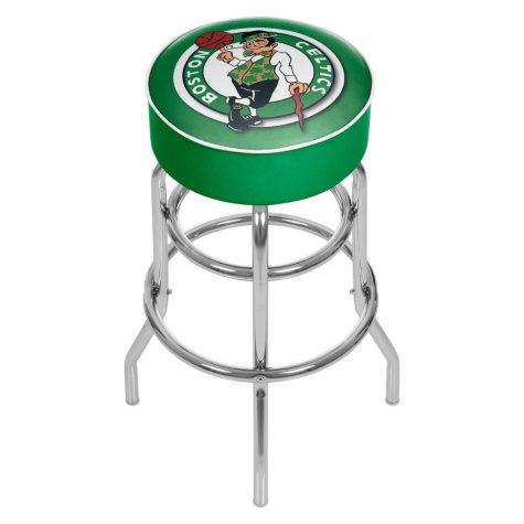 Boston Celtics NBA Padded Swivel Bar Stool