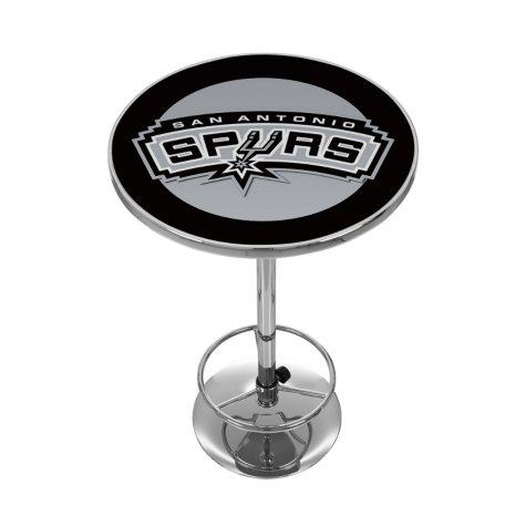 San Antonio Spurs NBA Chrome Pub Table