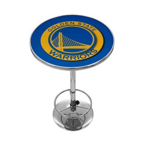 Golden State Warriors NBA Chrome Pub Table