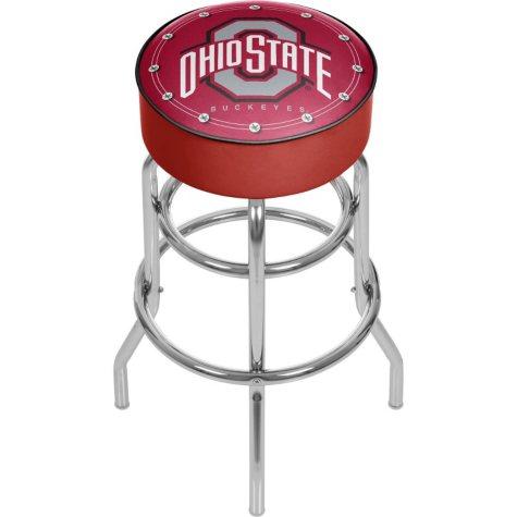 Ohio State University Backless Bar Stool