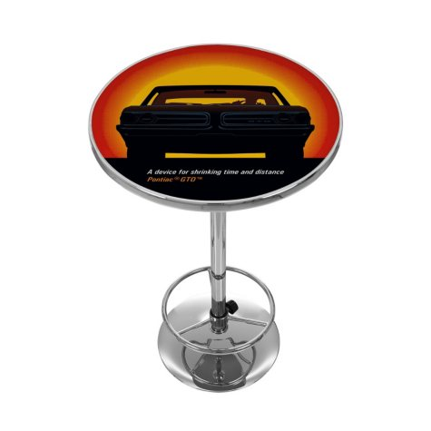 Pontiac GTO , Time & Distance , Chrome Pub Table