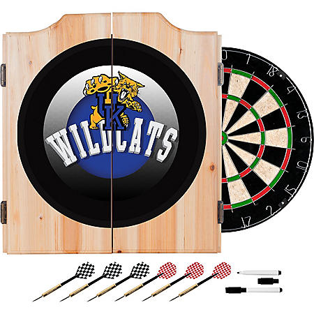 University of Kentucky Wildcats Dart Cabinet Set (Assorted Styles)