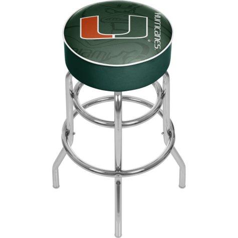 University of Miami Bar Stool (Assorted Styles)