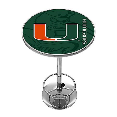 University of Miami Pub Table (Assorted Styles)