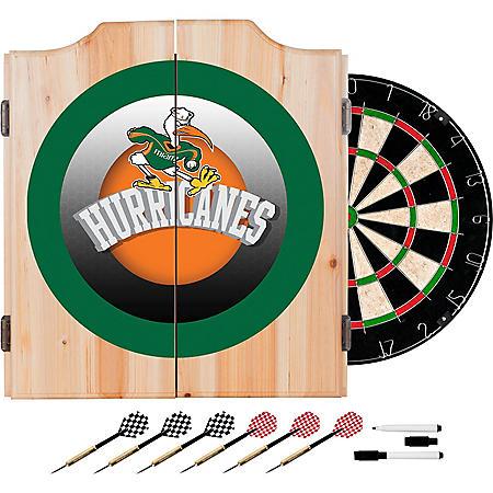 University of Miami Dart Cabinet Set (Assorted Styles)