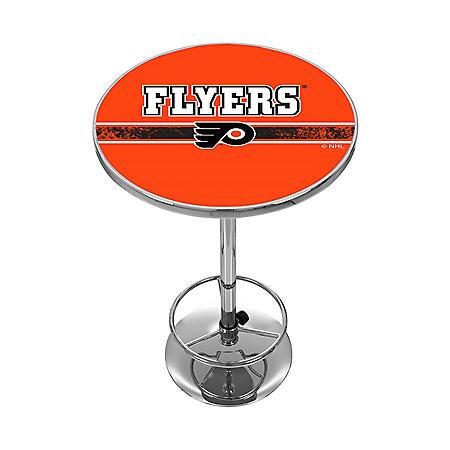 NHL Chrome Pub Table, Philadelphia Flyers