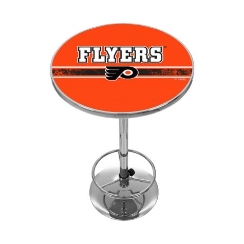 NHL Chrome Pub Table, Philadelphia Flyers