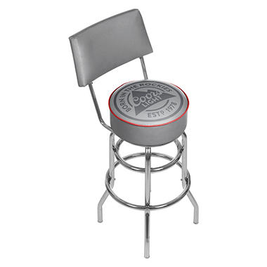 Coors Swivel Bar Stool with Back (Assorted Styles)