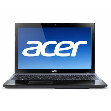 Acer Aspire V3 Laptop Intel Core i5-2450, 500GB, 15.6