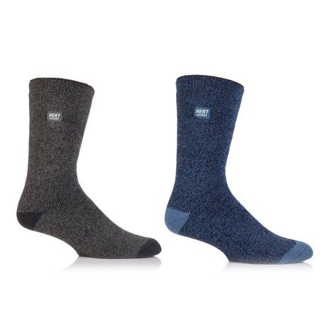 Heat Lockers® Men's Everyday Crew Socks 2 Pair Pack