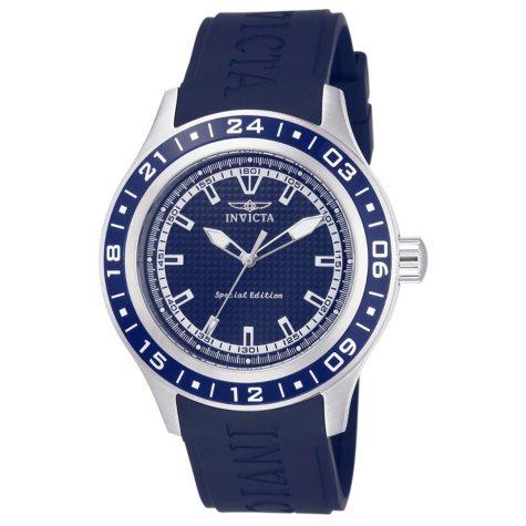 Invicta Men's Specialty 45mm Silcone Band Watch