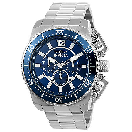 Invicta Men's Pro Diver 48mm Stainless Steel Chronograph Watch