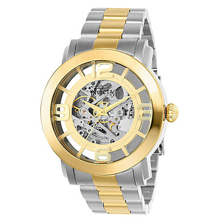 Invicta Mens Vintage Automatic Watch 45mm
