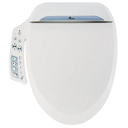 Bio Bidet Ultimate BB-600R Round Electric Bidet Seat (White)