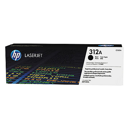 HP 312A Original Laser Jet Toner Cartridge, Black (2,400 Page Yield)