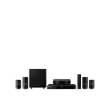 home theater wireless. samsung 5.1-channel 3d blu-ray home theater system with wireless rear speakers - p