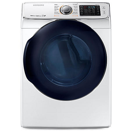 SAMSUNG 7.5 Cu. Ft. Electric Stackable Dryer with Steam Cycle - DV45K6500