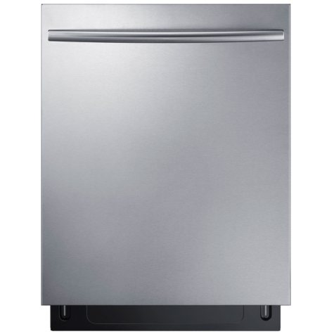 SAMSUNG Top Control 44-Decibel Built-In Dishwasher with StormWash, Stainless Steel  - DW80K7050US