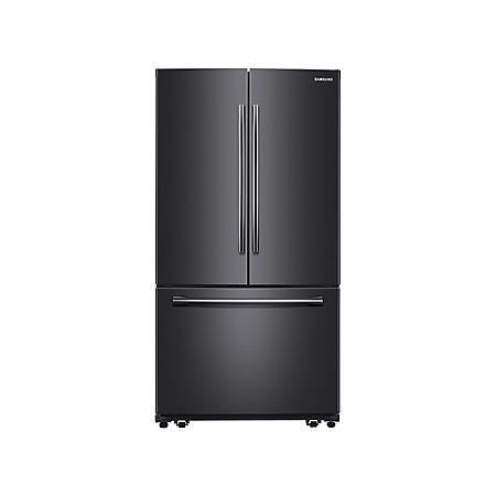 SAMSUNG 25.5 Cu.Ft. 3-Door French Door Refrigerator with Single Ice Maker - RF260BEAESG, RF260BEAESR (Choose Color)