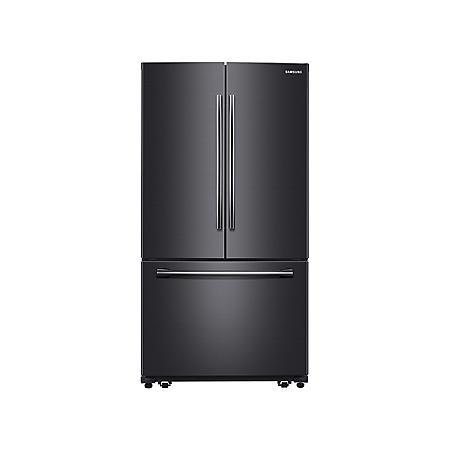 SAMSUNG 25.5 Cu.Ft. 3-Door French Door Refrigerator with Single Ice Maker - RF260BEAESG