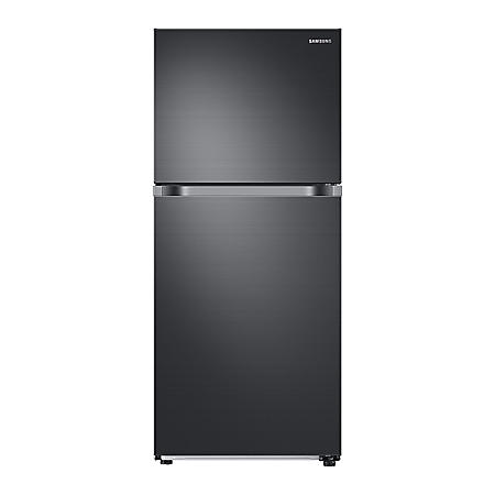 SAMSUNG 18 Cu. Ft. Top Freezer Refrigerator with FlexZone™ and Automatic Ice Maker - RT18M6215SG