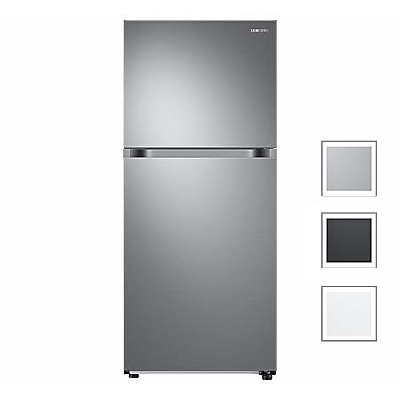 Samsung 18 cu. ft. Top Freezer Refrigerator with FlexZone