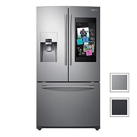 SAMSUNG 24.2 Cu. Ft. 3-Door French Door Refrigerator with Family Hub™