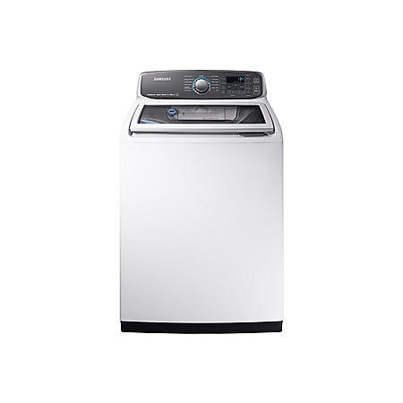 SAMSUNG activewash 5.2 Cu. Ft. Top-Load High-Efficiency Washer, White - WA52M7750AW