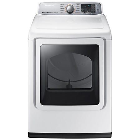 SAMSUNG 7.4 Cu. Ft. Electric Dryer with Steam Cycle - DVE50M7450