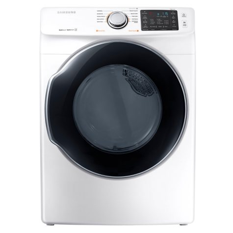 SAMSUNG 7.5 Cu. Ft. Electric Stackable Dryer with Steam Cycle  - DVE45M5500