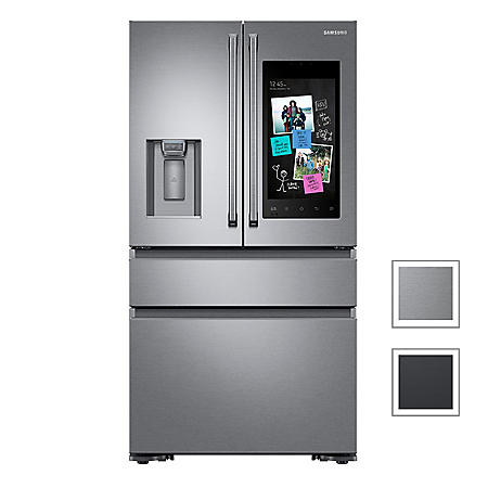 Samsung 22 cu. ft. Counter Depth 4-Door Refrigerator with Family Hub™