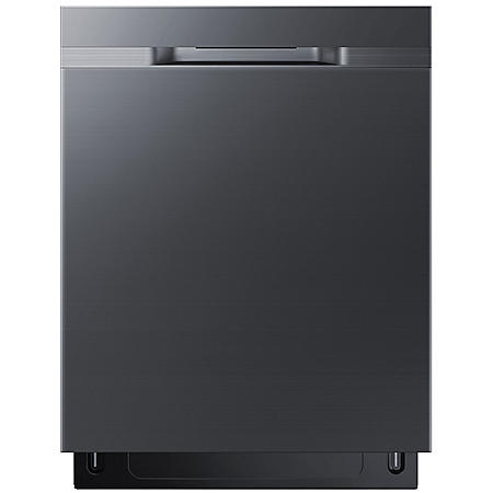 SAMSUNG Top Control 48-Decibel Built-In Dishwasher with StormWash Black Stainless Steel - DW80K5050UG