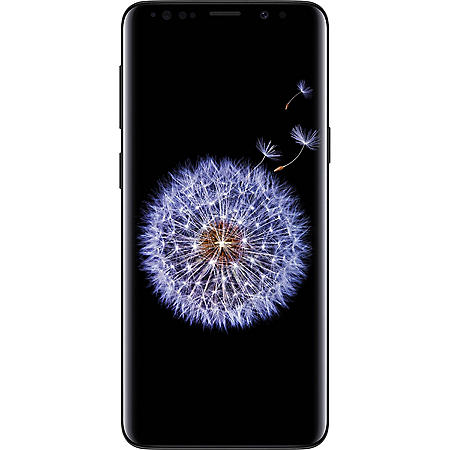 Samsung Galaxy S9 64GB Smartphone Unlocked (Midnight Black)