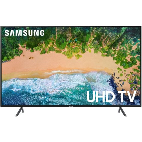 "SAMSUNG 75"" Class 4K (2160p) Ultra HD Smart LED TV with HDR - UN75NU710DFXZA/EXZA"