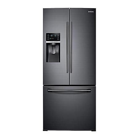 SAMSUNG 27.8 Cu. Ft. 3-Door French Door Food Showcase Refrigerator - RF28HDEDBSG