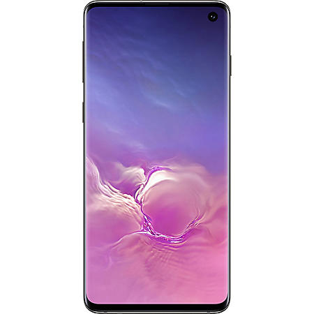 Samsung Galaxy S10 Smartphone Unlocked -Black (Choose Capacity)