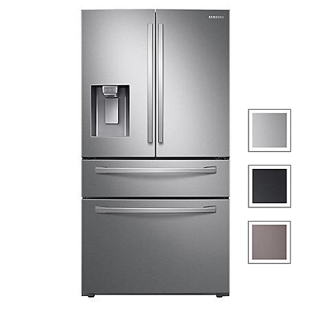 Samsung 23 cu. ft. Counter Depth 4-Door Refrigerator with FlexZone™ Drawer