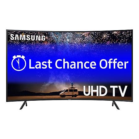 "SAMSUNG 65"" Class 7-Series Curved 4K Ultra HD Smart HDR TV - UN65RU730DFXZA"
