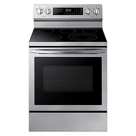 Samsung 5.9 cu. ft. Single Oven Electric Range with True Convection