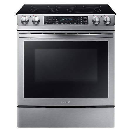 Samsung 5.8 cu. ft. Single Oven Range with Dual Convection