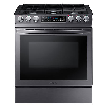 SAMSUNG 5.8 cu. ft. Convection Slide-in Gas Range - NX58R9421 (Choose Color)